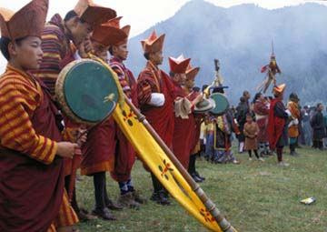 Buddhist Temple festivals highlight many Bhutan trips.