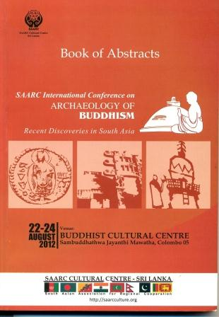 Book of Abstract - SAARC International Conference on Archaeology of Buddhism-Recent Discoveries in South Asia Image