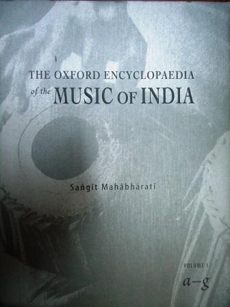 The Oxford Encyclopaedia of the Music of India Vol.I Image