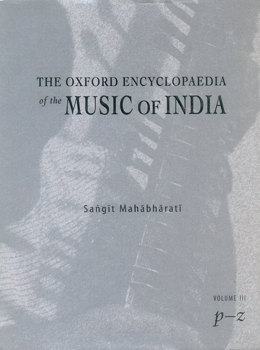 The Oxford Encyclopaedia of the Music of India Vol.III Image