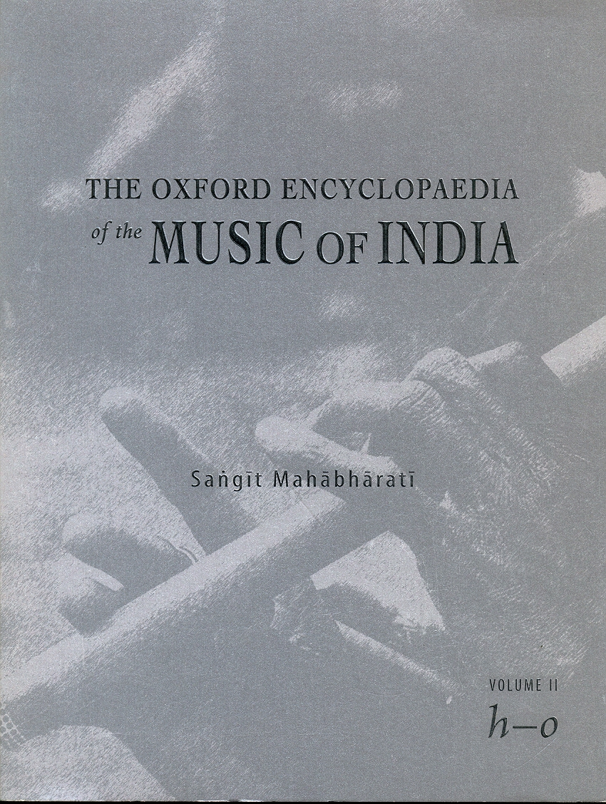 The Oxford Encyclopaedia of the Music of India Vol.II Image