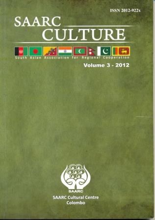 SAARC Culture Journal VOL 3-2012 Image