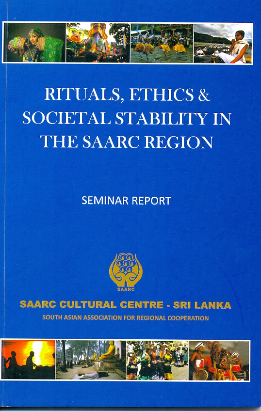 RITUALS,ETHICS & SOCIETAL STABILITY IN THE SAARC REGION Image
